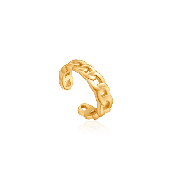 Ania Haie Curb Chain Ear Cuff Gold