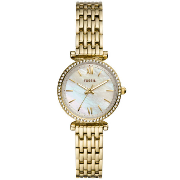 Fossil Carlie Mini Gold Watch