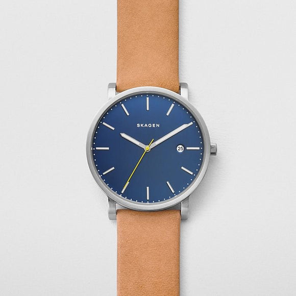 Skagen Hagen Tan Leather Watch SKW6279