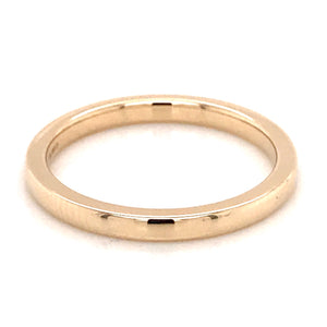 9ct Yellow Gold 3mm Band