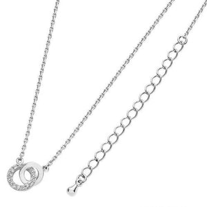 Tipperary Crystal Silver Polished & Cz Pendant 123984