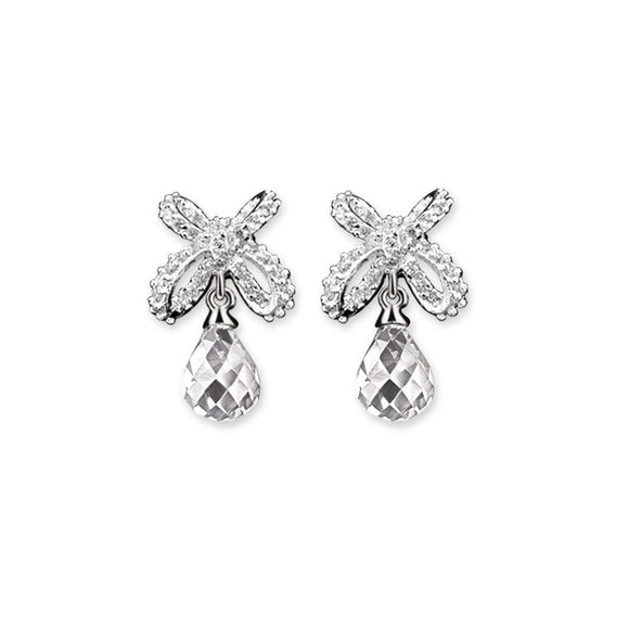 Newbridge Maureen O Hara Clear Drop Stone Earrings MOH332C