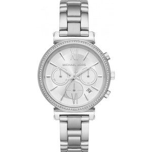Michael Kors Sofie Silver Stainless Steel Strap Ladies Watch MK6575