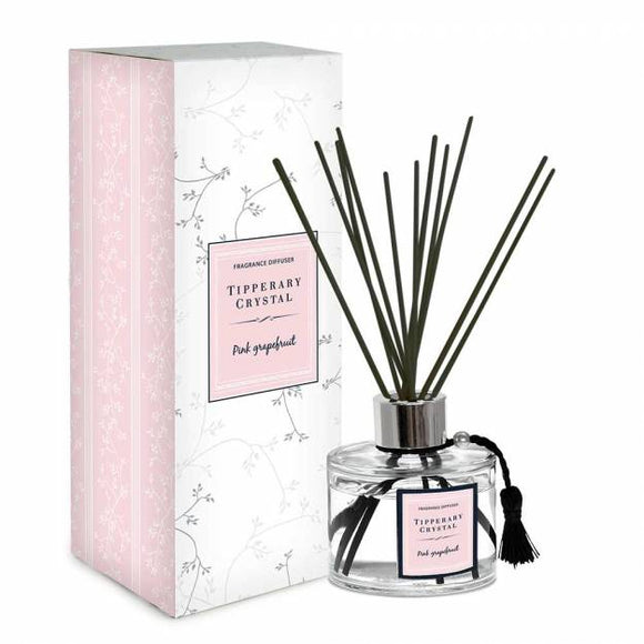 Tipperary Crystal Diffuser Pink Grapefruit