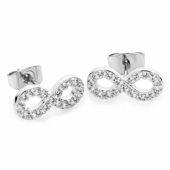 Tipperary Crystal Stone Set Infinity Earring 109254
