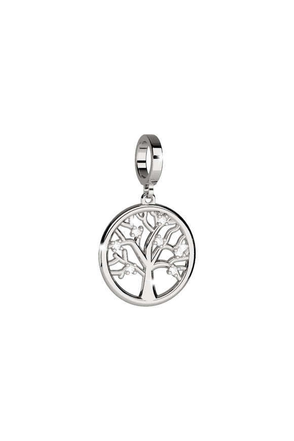 Rebecca My World Silver Tree of Life Charm BWNPBB66