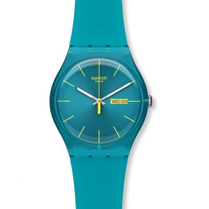 Swatch Turquoise Rebel Watch SUOL700