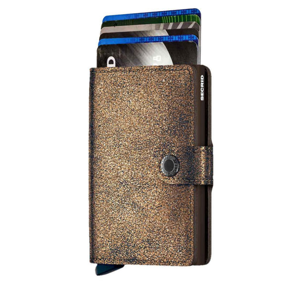 Secrid Glamour Bronze Mini Wallet
