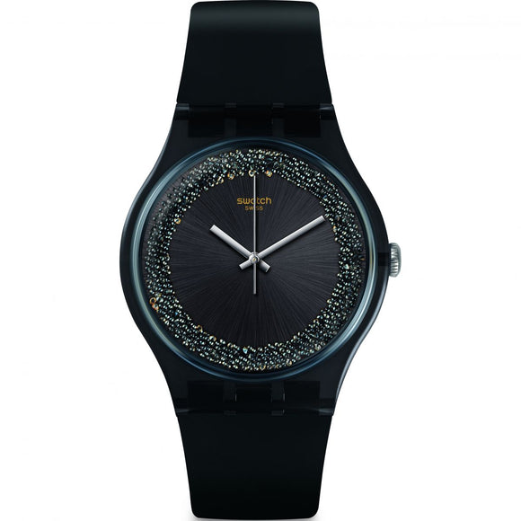 Swatch DarkSparkle Watch SUOB156