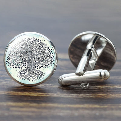 Tree of Life Cufflinks - Yogi Store
