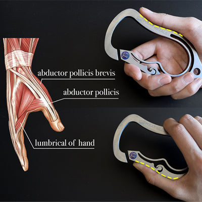 "<b><font color=""black"">SOLID TITANIUM BAD ASS CARABINER </font></b> <br>Polar Metals - Kranite"