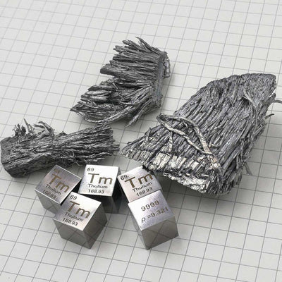 MIRROR POLISHED SOLID METAL CUBES // UNUSUAL METALS  (TIER II)