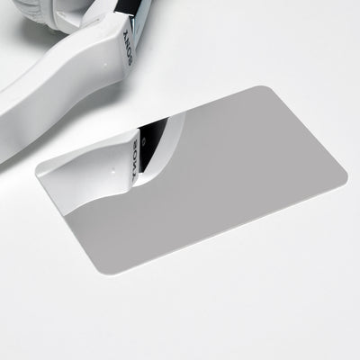 "<b><font color=""black"">DISCREET SOLID CREDIT CARD MIRROR</font></b> <br>Polar Metals - Kranite"