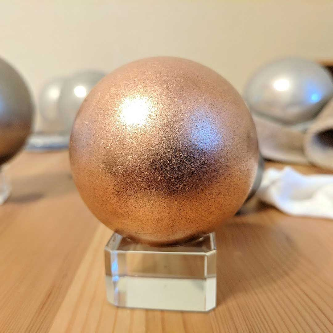 Trance Metals Solid Copper Sphere