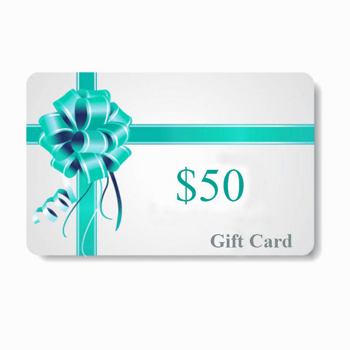 $50 / $ 100 / $200 Gift card