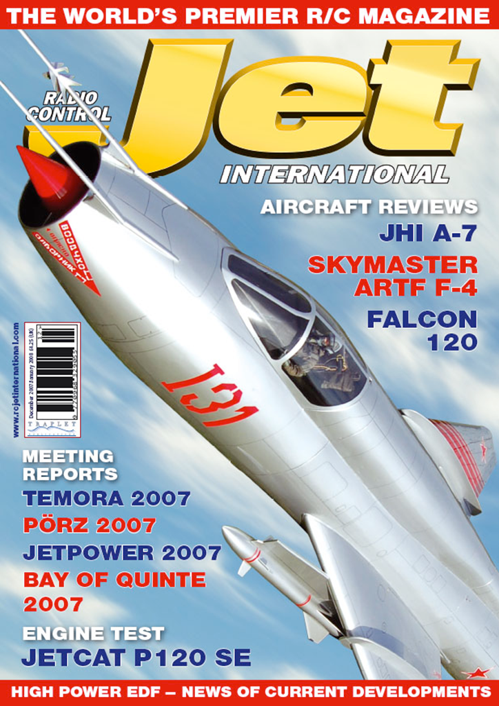 RCJI Dec/Jan 2008 Back Issue