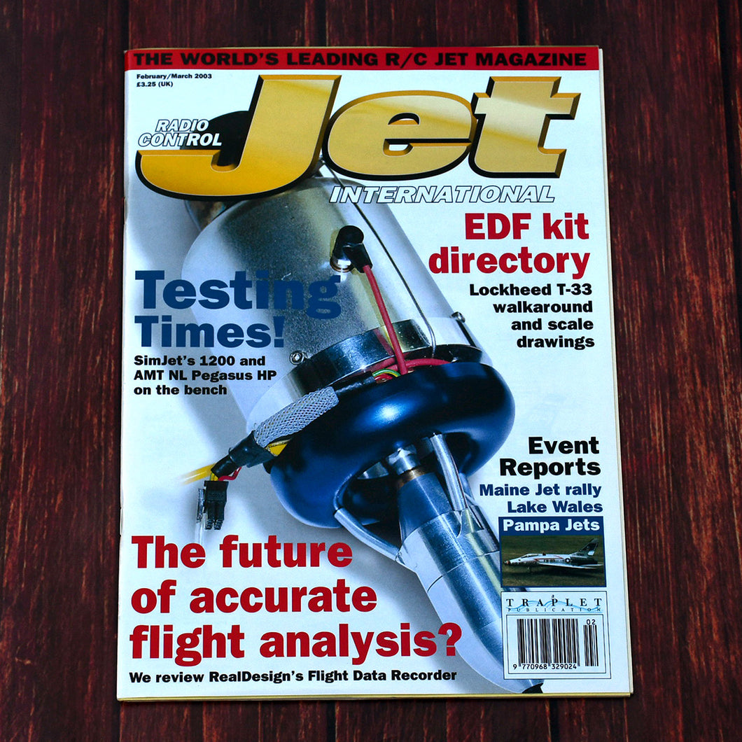 RCJI Feb/Mar 2003 Back Issue