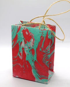 Gift bag, Marbled, small