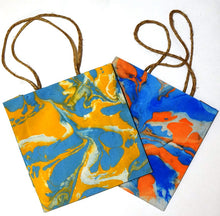 Load image into Gallery viewer, Gift bag, Marbled, square