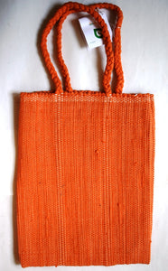 Bag, woven tote, Book, Plain