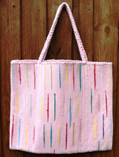 Load image into Gallery viewer, Bag, woven tote, large, Flash