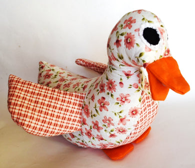 Duck, patchwork