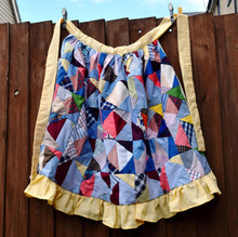 Load image into Gallery viewer, Apron, waist-length, patchwork