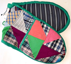 Double Oven glove, patchwork,