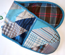 Load image into Gallery viewer, Double Oven glove, patchwork,