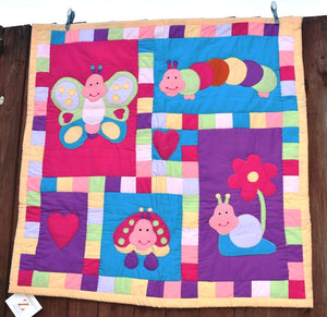 Playmat, child, Bugs & Butterflies