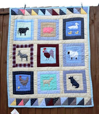 Quilt/Playmat, child, Farm