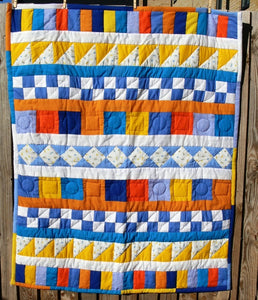 Quilt/Throw, Geometric