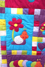 Load image into Gallery viewer, Quilt/playmat, child, Bugs & Butterflies