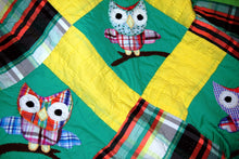 Load image into Gallery viewer, Quilt, child, Owls