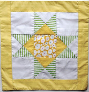 Cushion cover, patchwork, Simple Star
