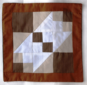 Cushion cover, patchwork, Crown