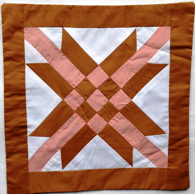 Cushion cover, patchwork, Complex Star