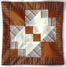 Load image into Gallery viewer, Cushion cover, patchwork, Crown