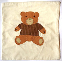 Load image into Gallery viewer, Cushion cover, appliqué, Teddy