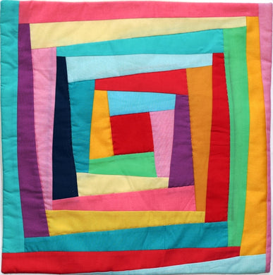 Cushion cover, patchwork, Skew
