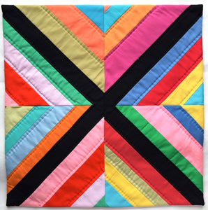 Cushion cover, patchwork, Flag