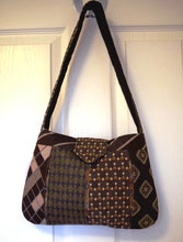 Load image into Gallery viewer, Bag, handbag, Ties, Brown 1