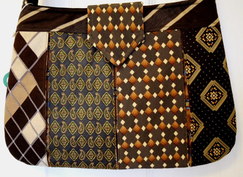 Bag, handbag, Ties, Brown 1