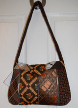 Load image into Gallery viewer, Bag, handbag, Ties, Brown 2
