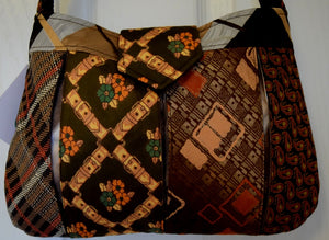 Bag, handbag, Ties, Brown 2