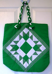 Bag, tote, patchwork, Nadia Green
