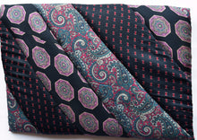 Load image into Gallery viewer, iPad cover, padded, Ties, Navy 2