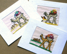Load image into Gallery viewer, Christmas Card, embroidered