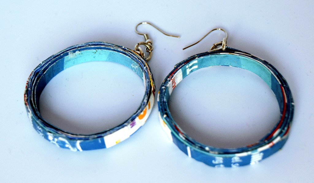 Earrings, Hoop Large