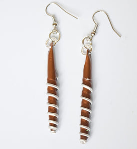 Earrings, Spiral